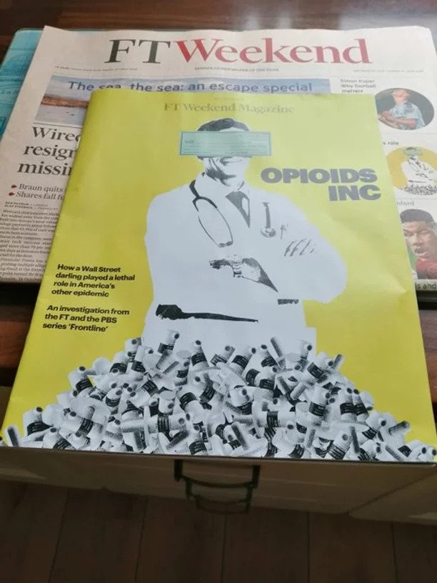 Shaunagh Connaire investigates US opioid crisis