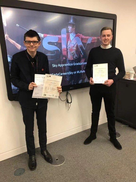 Sky apprentice and mentee 2017 graduates