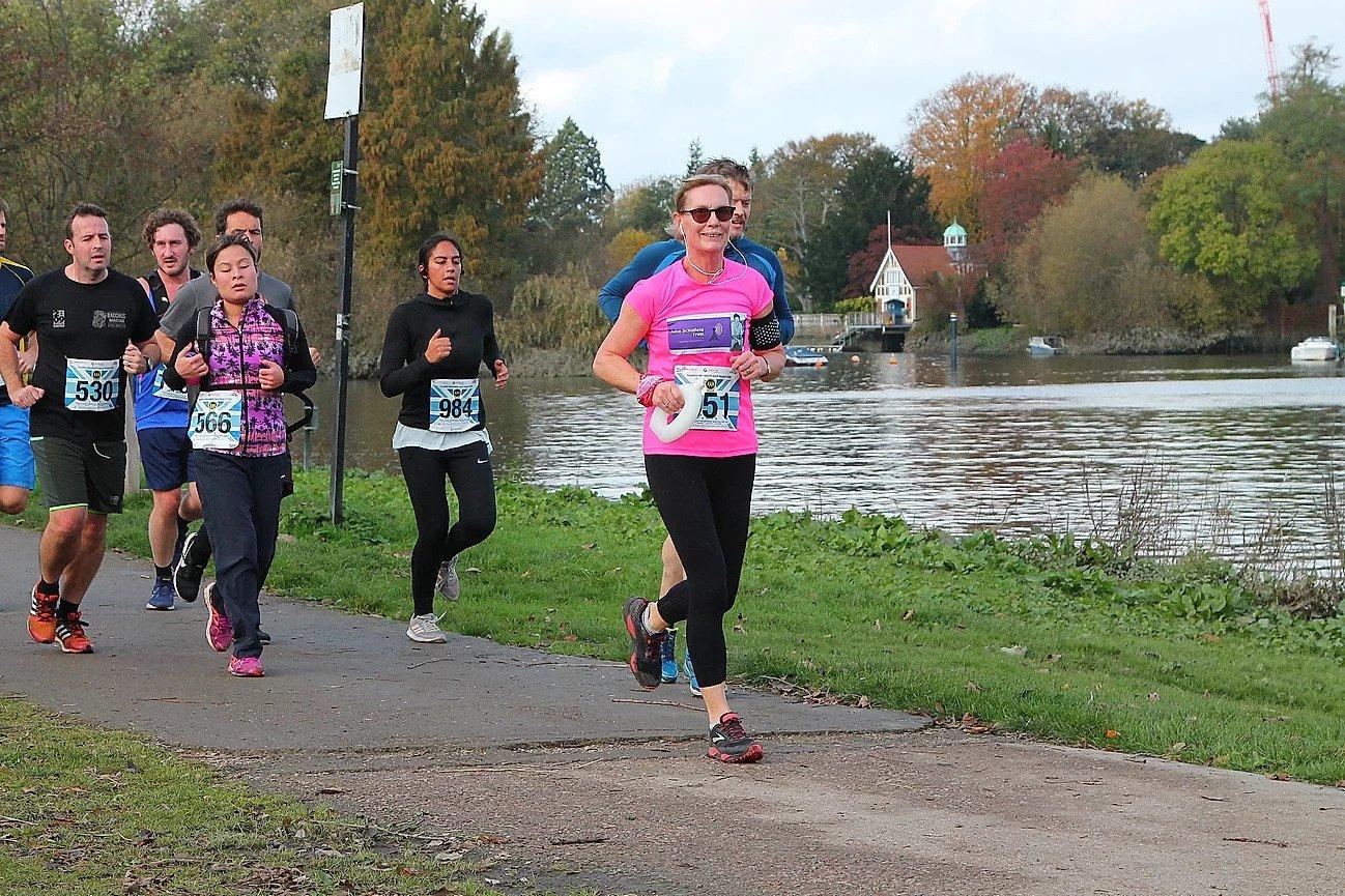 Trustee Kate completes half marathon challenge