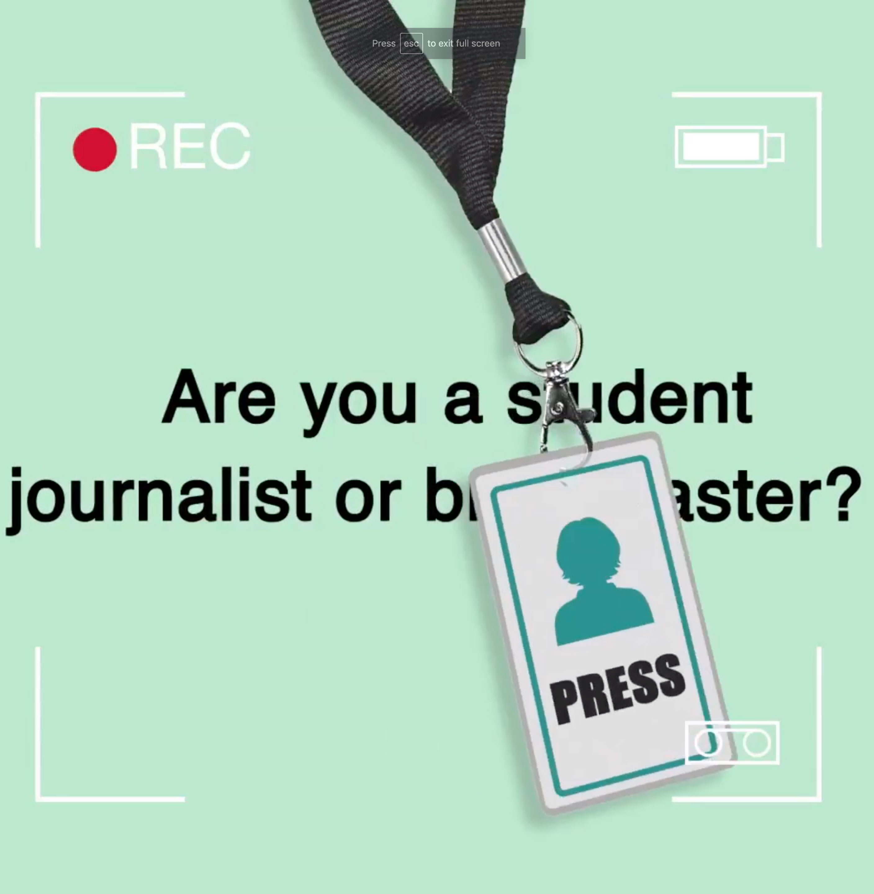 BBC announces student journalism awards