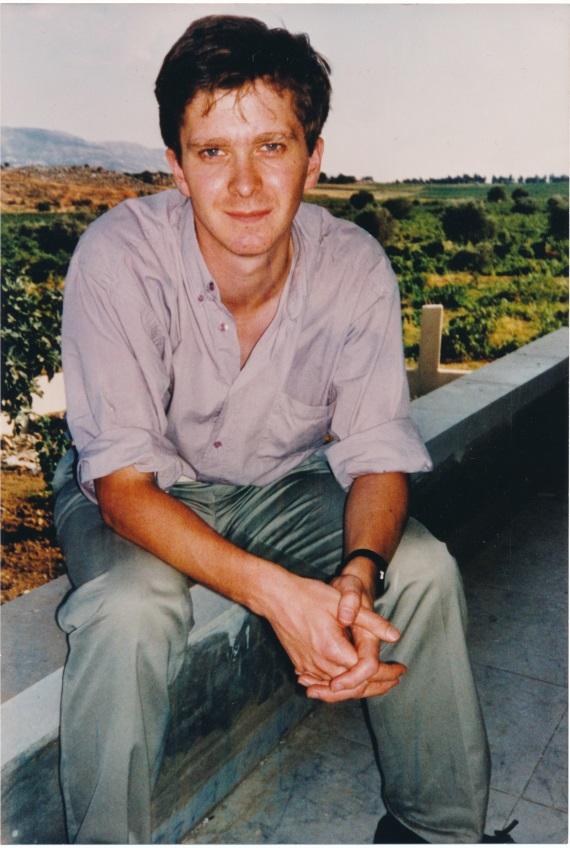John Schofield in Beqaa Valley, Lebandon