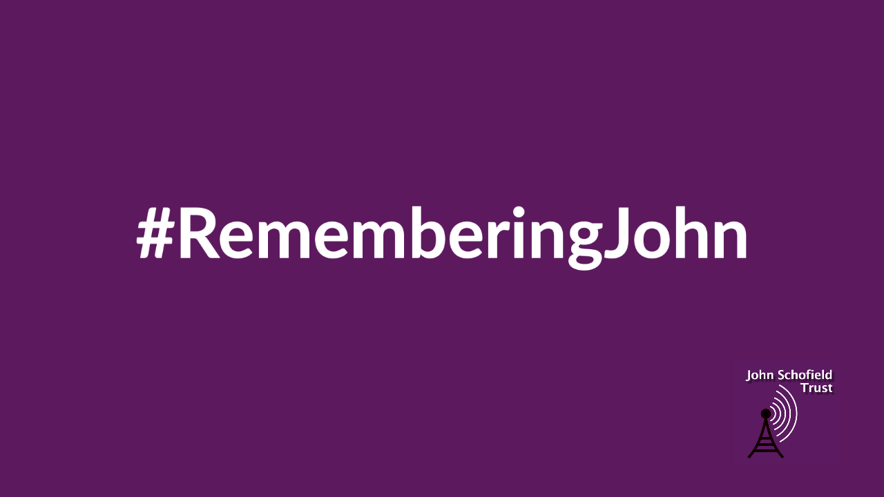 #RememberingJohn slate