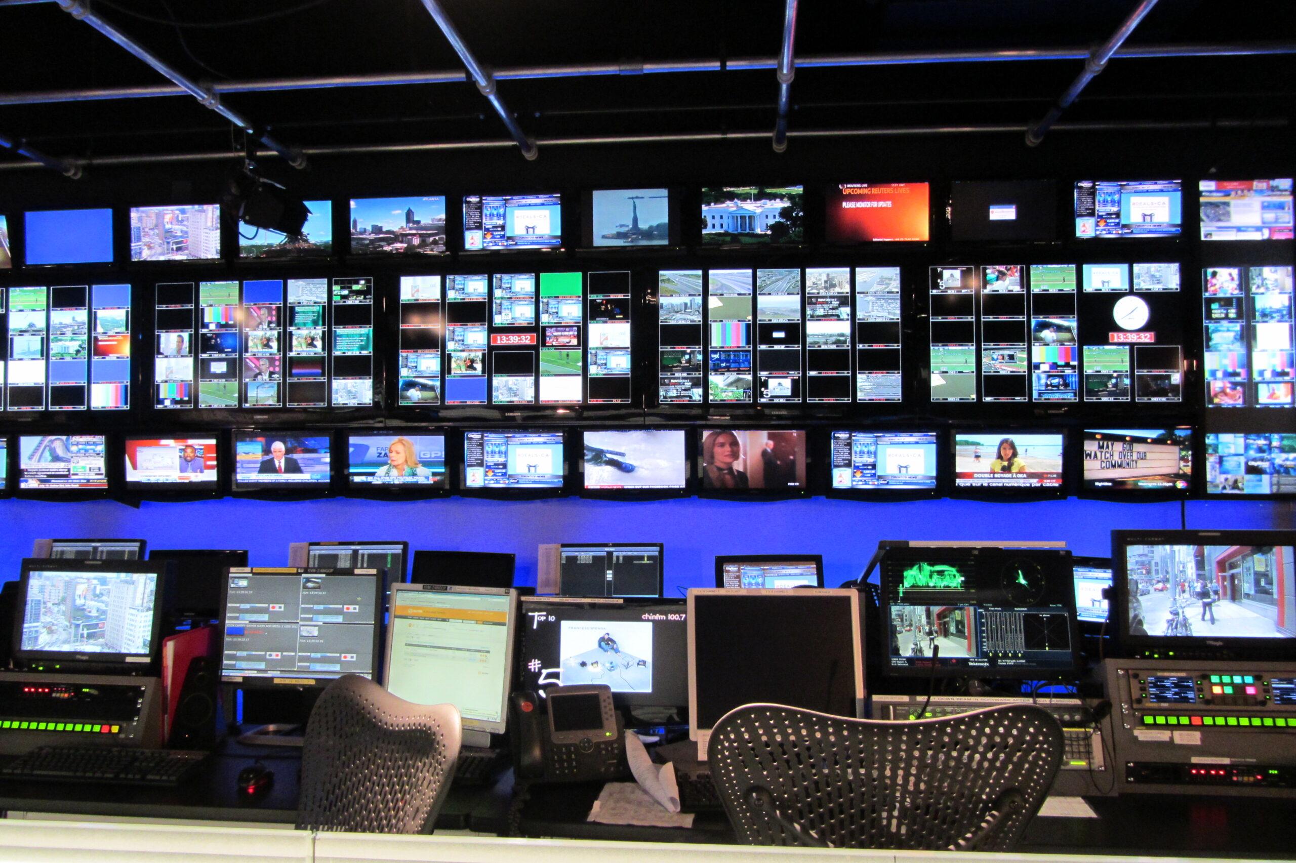 City TV Control Room Toronto