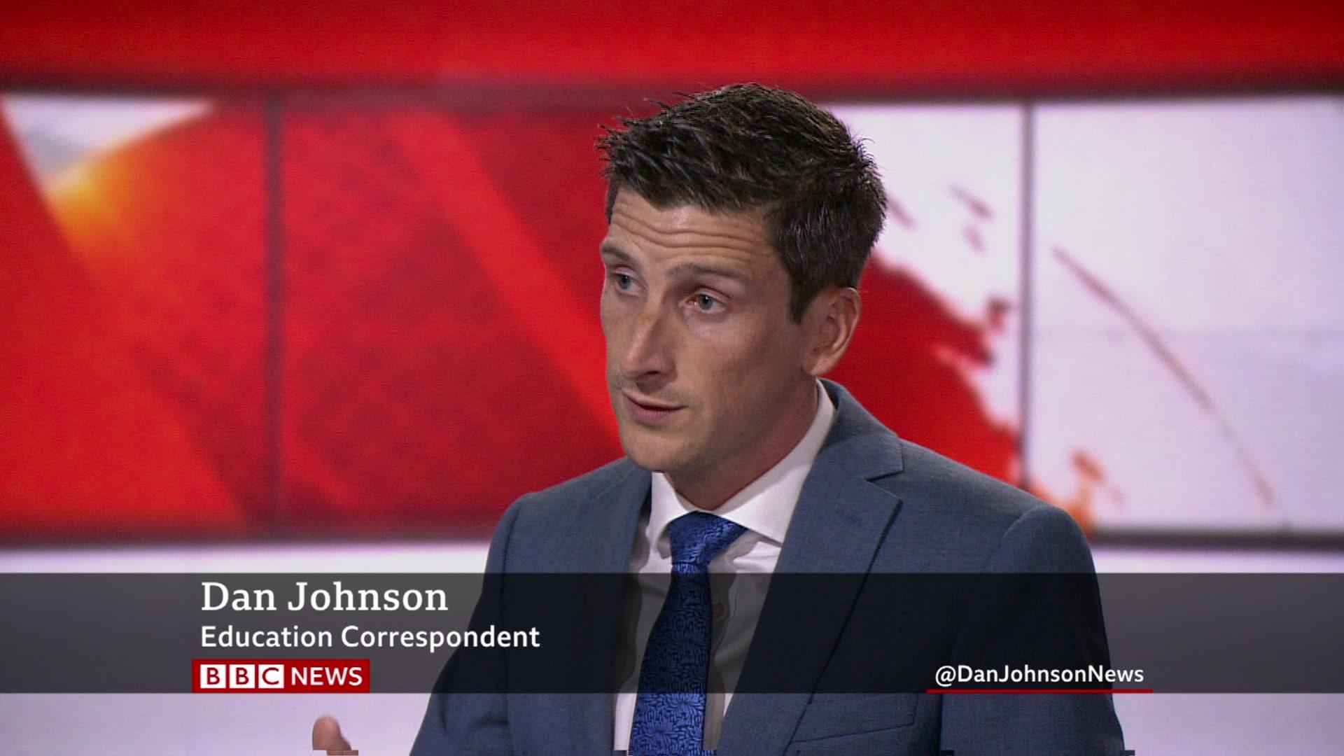 Dan Johnson moves to education