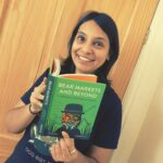 Dhruti Shah with her new book, Bear Markets and Beyond