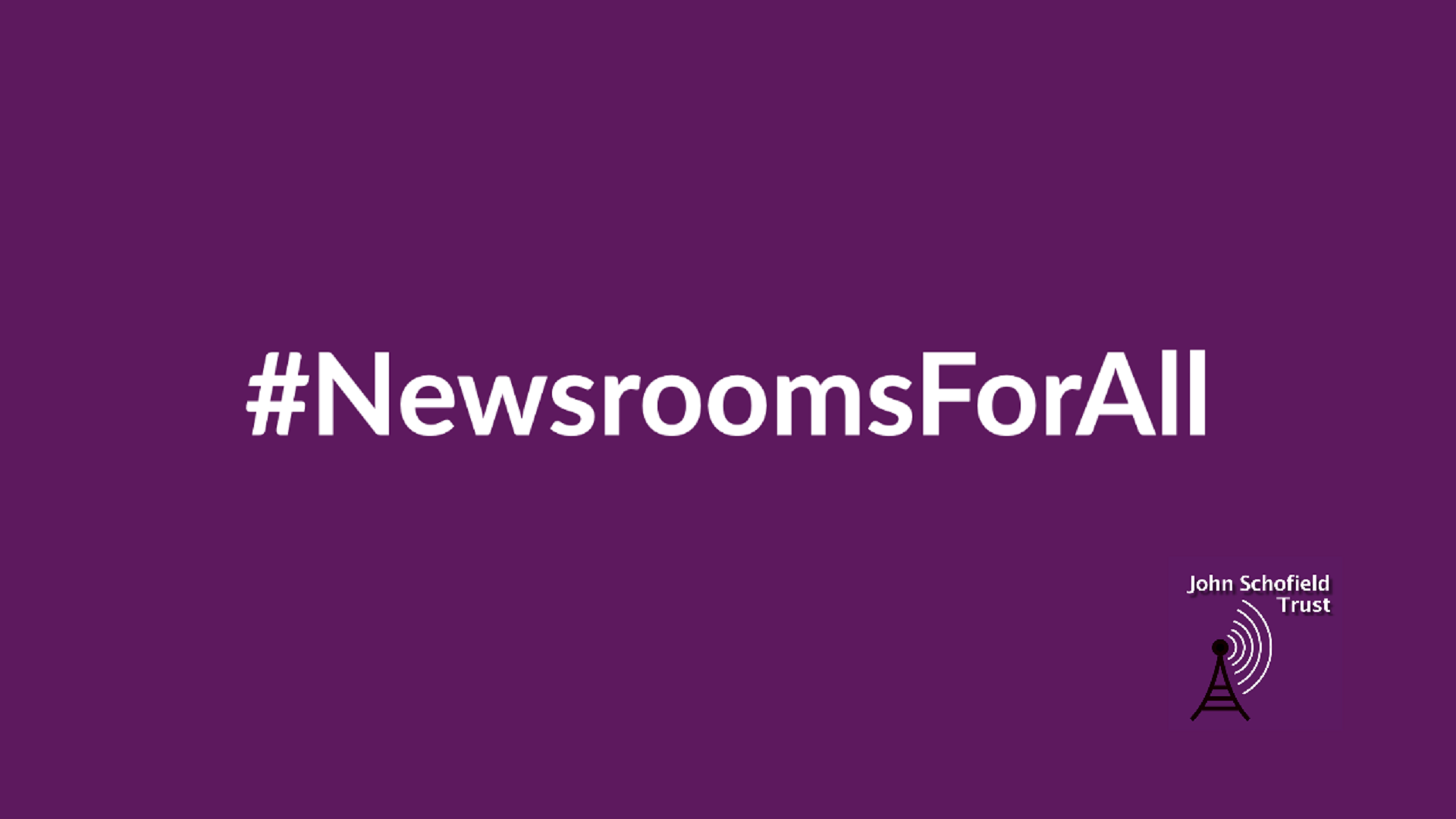 Our #NewsroomsForAll fundraiser