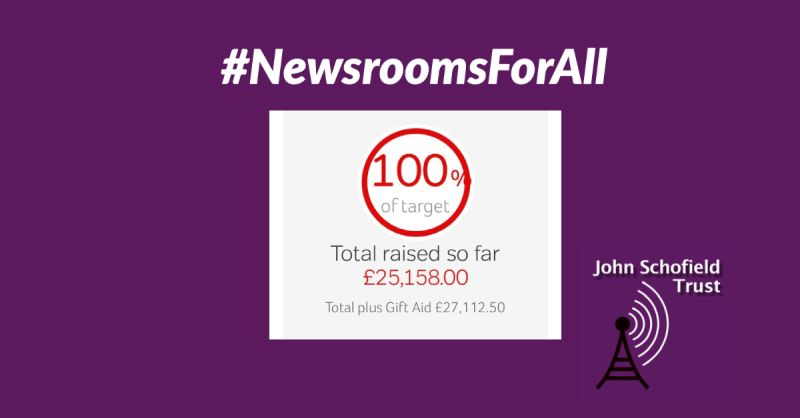 THANK  YOU FOR SUPPORTING #NewsroomsForAll