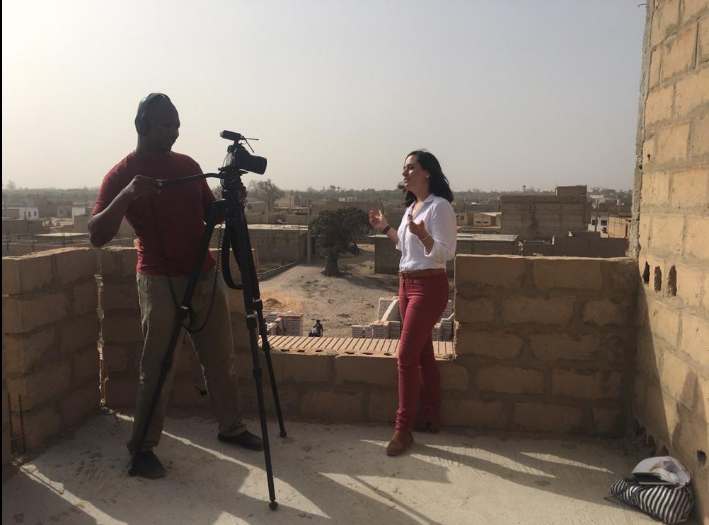 Kerry Alexander in Senegal