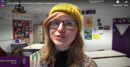 Charlotte Gay, online mentee on 2017 scheme