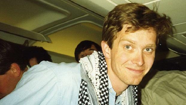 John Schofield on 'plane back from Kuwait
