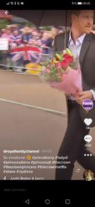 Prince Harry on ITN TikTok account