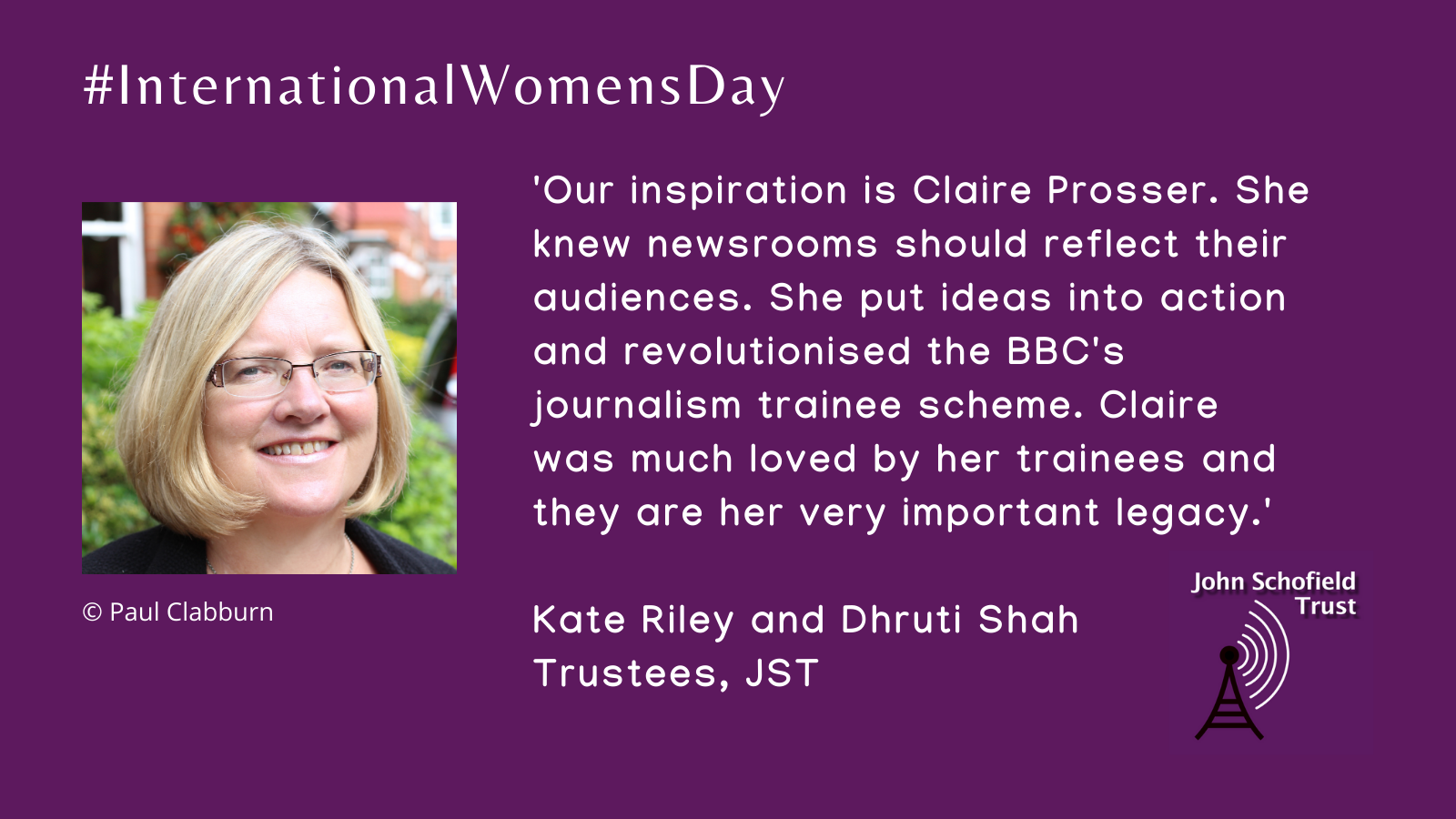Kate Riley and Dhruti Shah's inspirational woman slide for #IWD
