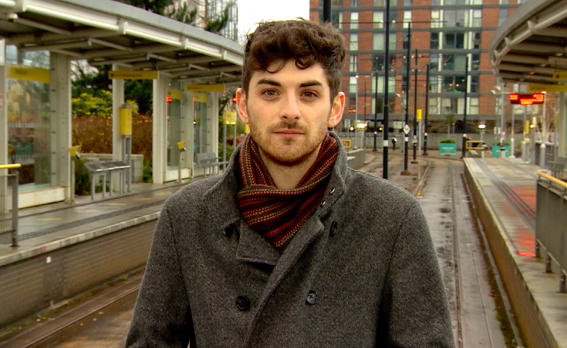 Mentee Tim O'Callaghan makes a date with ITV Calendar!