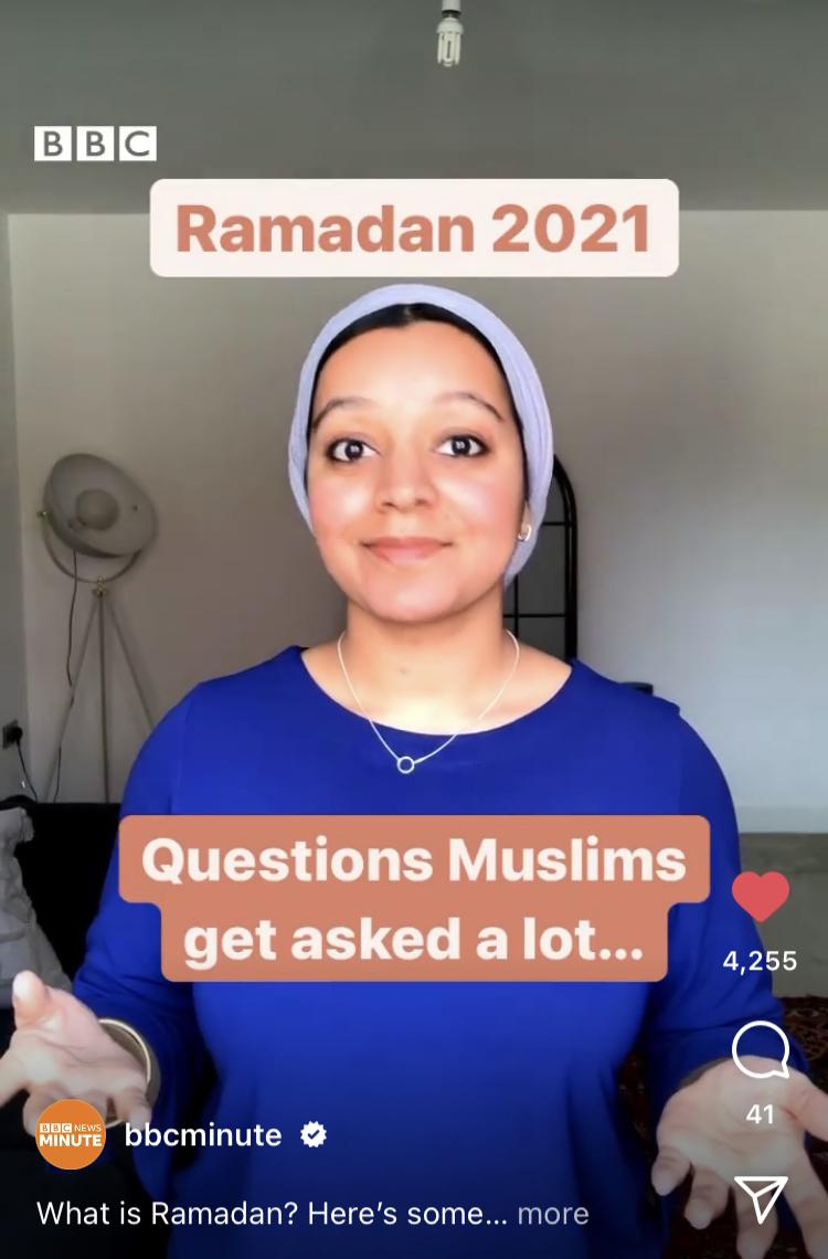 Nabihah Parkar (2021) hosts hit Ramadan explainer