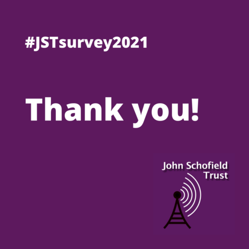 Thank you for completing our 2021 supporters' survey!