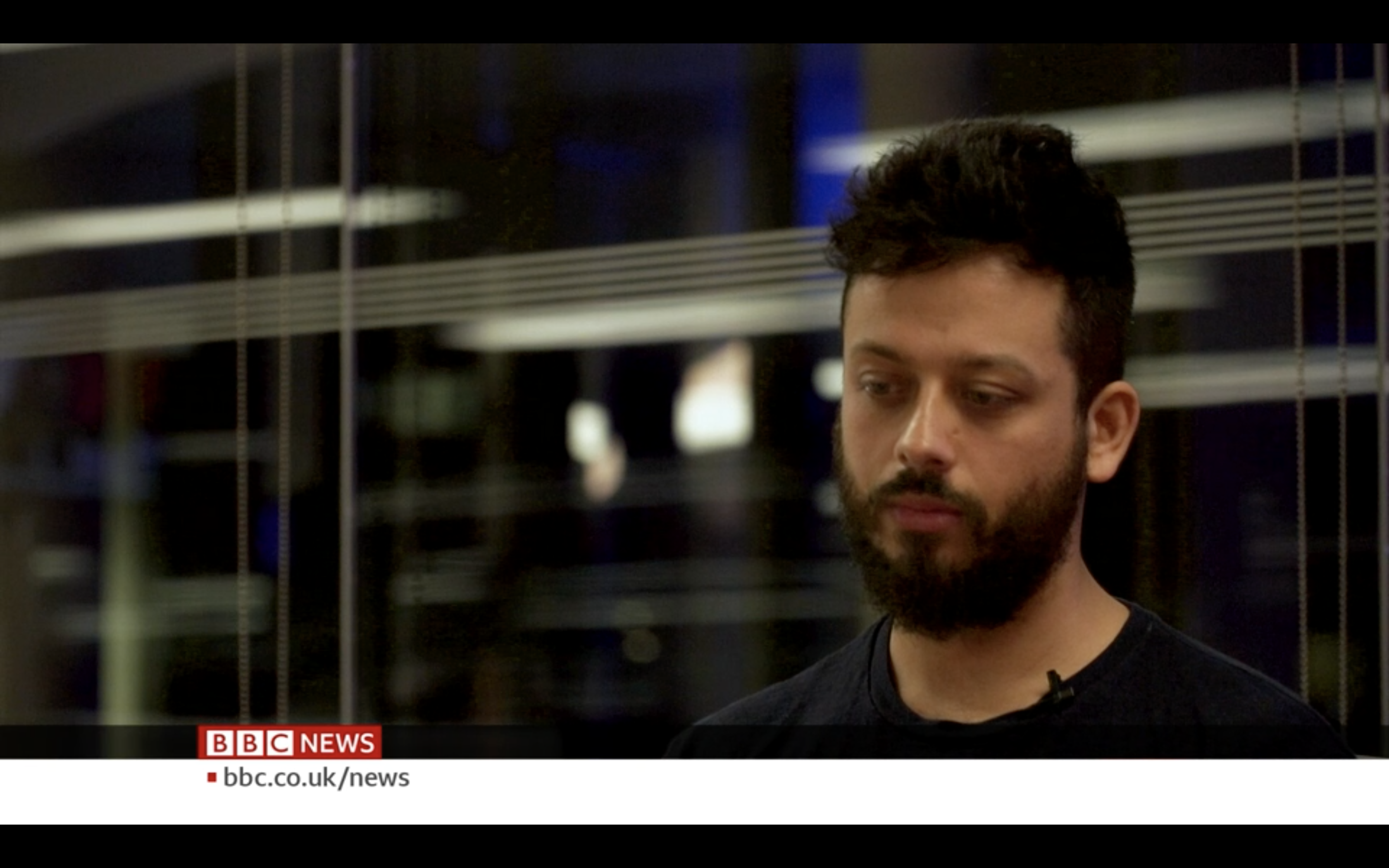 Craig Langran (2021) make TV debut with piece on facial recognition for BBC Click