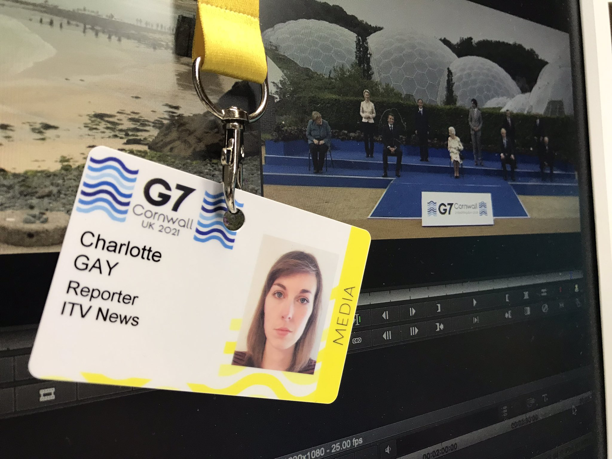 Charlotte Gay (2017) has the full G7 experience