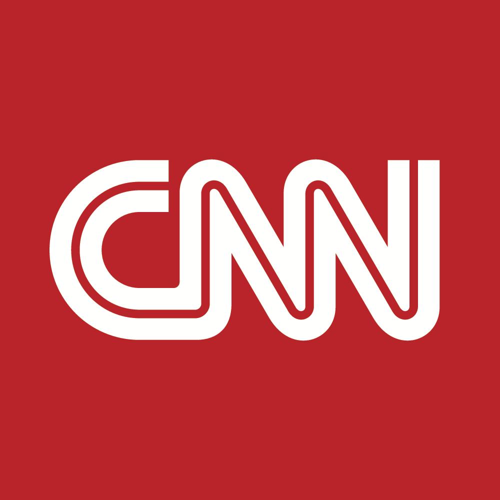 CNN logo - white text on red background