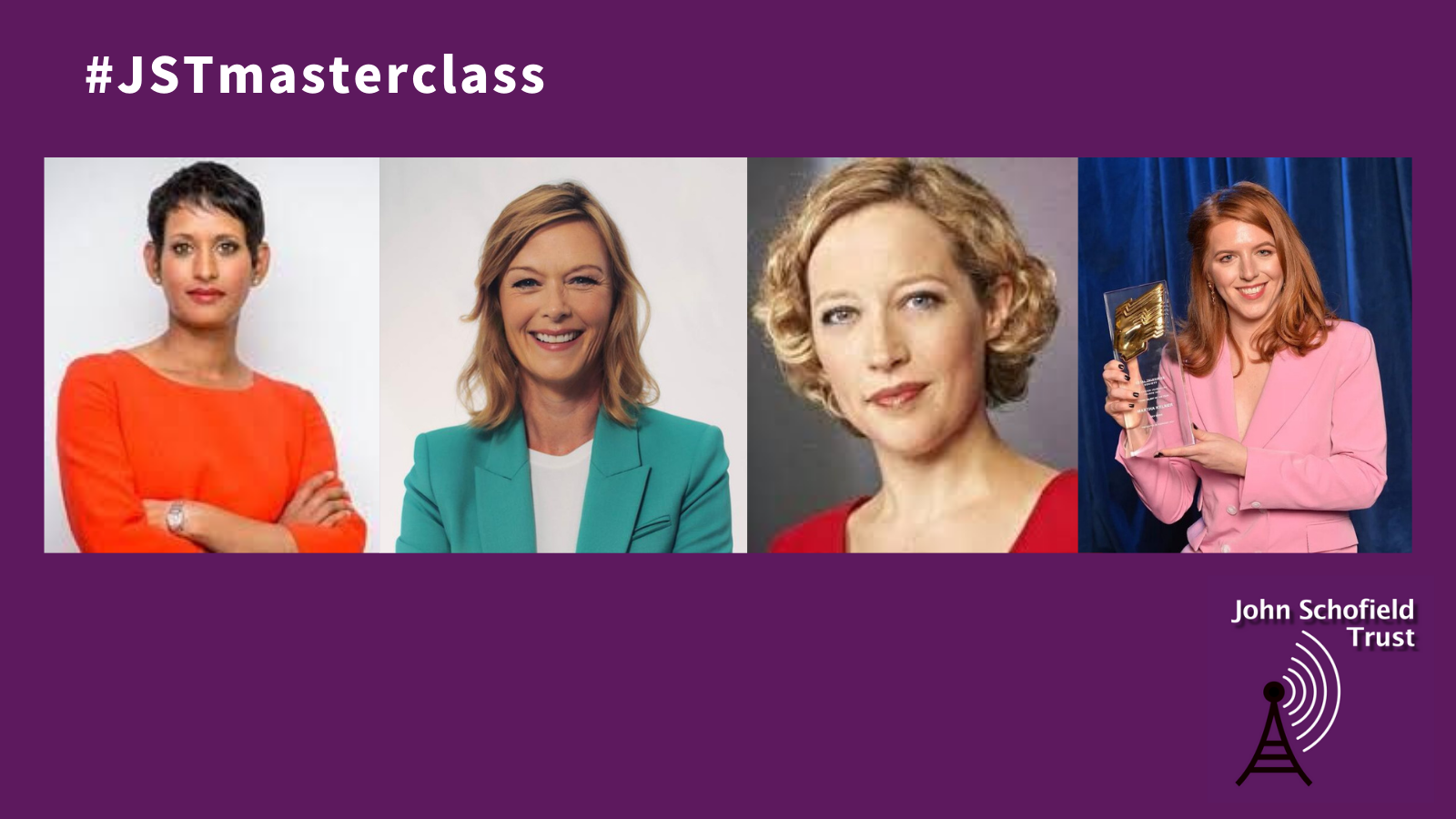 Join our masterclass on how to present a news programme.